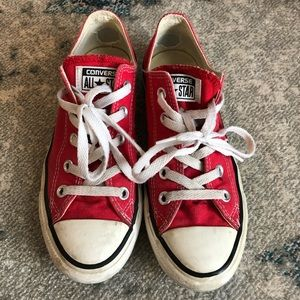 Converse. Well loved! Size 6.